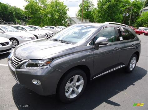 Nebula Gray Pearl 2013 Lexus Rx 350 Awd Exterior Photo