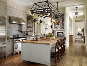 Wrought Iron Kitchen Island Beadboard Center Island Transitional Kitchen Huryn