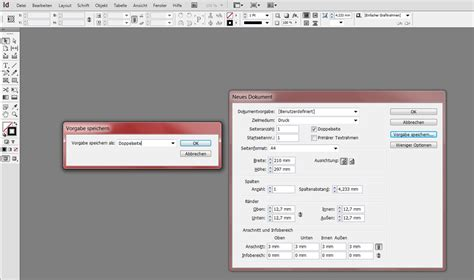 typography tutorial indesign indesign voreinstellungen dokumentvorgaben 228 ndern
