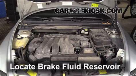 add brake fluid   volvo   volvo     cyl