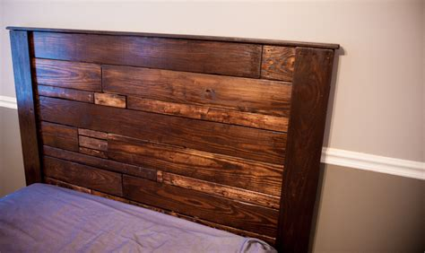 diy queen bed headboard diy queen pallet bed and headboard lance ingle