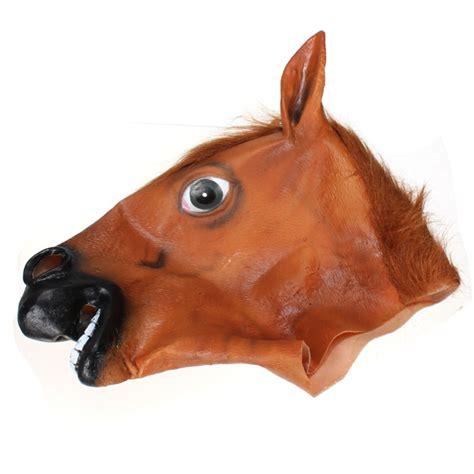 maschera testa di cavallo maschera testa di cavallo inquietante costume teatrale