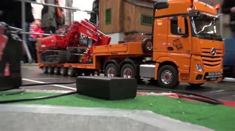 Rc Truck Molen Remote Mainan Mobil Mobilan remote truk membawa excavator