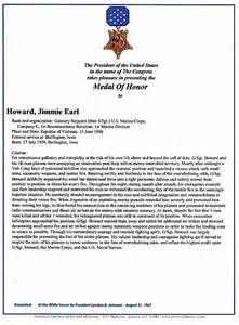 medal of honor database citations