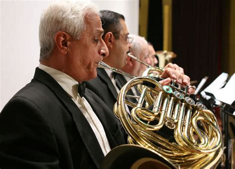 french horn section french horn section of iraqi national orchestra