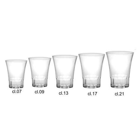 bicchieri infrangibili bicchieri infrangibili 13 cl amalfi durex 4 pezzi piazza