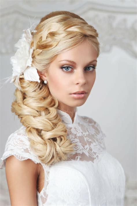 Brautfrisur Flechtfrisur by 55 Brautfrisuren Stilvolle Haarstyling Ideen F 252 R Lange Haare