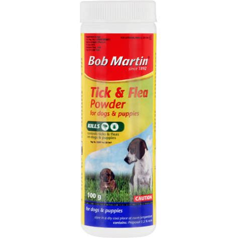 flea powder for dogs bob martin tick flea powder for dogs puppies 100g clicks