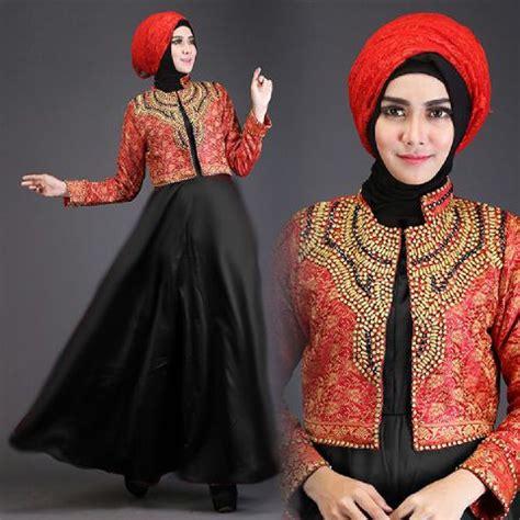 Dress Lengan Serut Baju Muslim Maxi Dress Talita Maxi baju gamis pesta talita2 a225b busana muslim dian pelangi