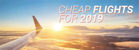 cheap flights with your low cost travel