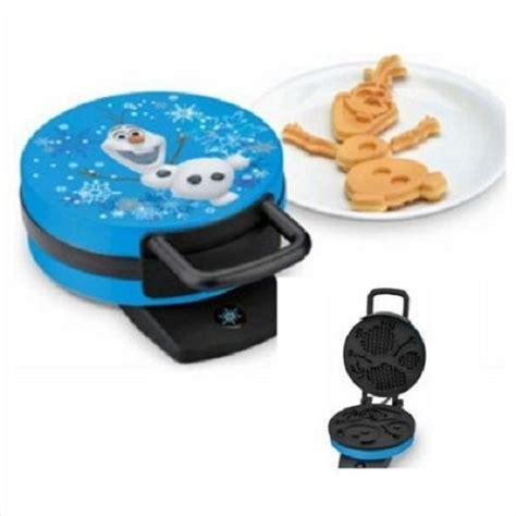 themed waffle maker disney frozen olaf waffle maker makes olaf the snowman
