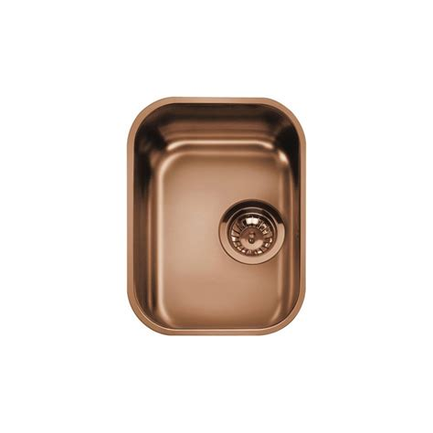 Smeg Kitchen Sinks Smeg Um30ra Undermounted Kitchen Sink Single Bowl Copper 30 Cm Fab