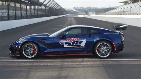 2019 Chevrolet Corvette Zr1 Is Gms Most Powerful Car by 2019 Corvette Zr1 Is Most Powerful Pace Car In Indy 500