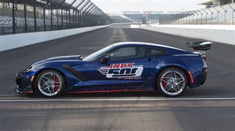 2019 Chevrolet Corvette Zr1 Is Gms Most Powerful Car by 2019 Corvette Zr1 Is Most Powerful Pace Car In Indy 500