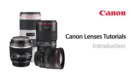 Tutorial Video Canon | canon camera news 2018 introduction videos to canon ef