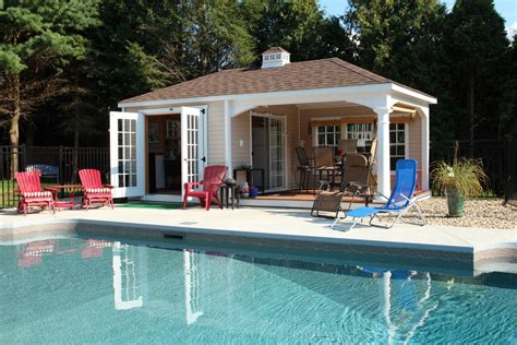 Pool House Shed Plans by Storage Shed Pool House Plans Discover Your Here Woody Nody