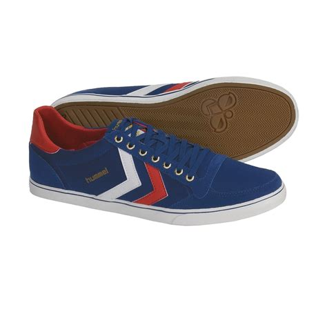hummel stadil low top usa shoes canvas sneakers for