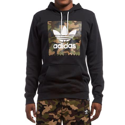 Adidas Hoodie adidas camo blackbird hoodie black