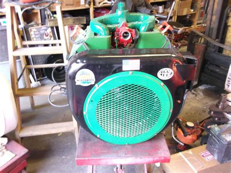 wisconsin vg4d 37 horsepower 4 cylinder air cooled gas engine ebay