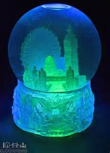light up snow globe large light up collage snowstorm snow globe