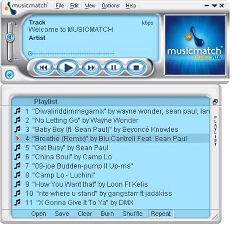 descargar musicmatch jukebox para reproducir audio bloguit - Musicmatch Apk