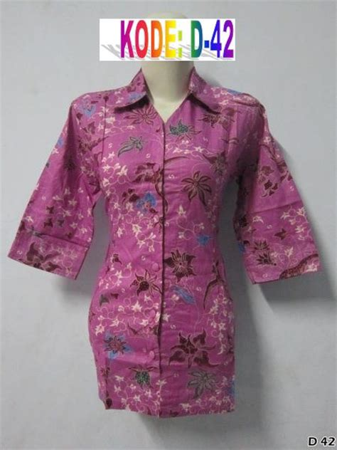 Baju Batik Ibu baju batik wanita murah grosir batik pekalongan modern
