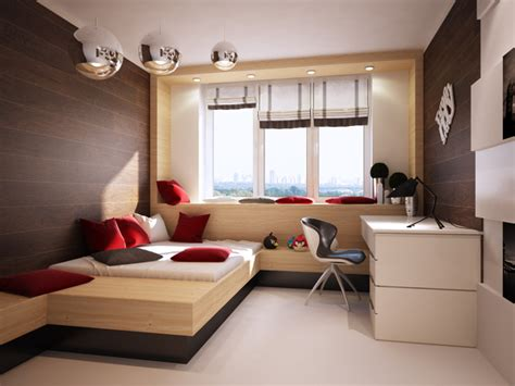 bedroom with study area designs teenage study area interior design ideas