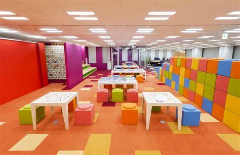 designboom office design teamlab designs pixiv office with 250m interactive work desk