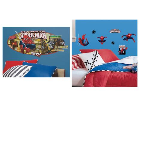 spiderman headboard ultimate spiderman headboard decal room package