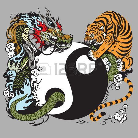tattoo hidden dragon zadar 18 best yin yang dragon tiger images on pinterest