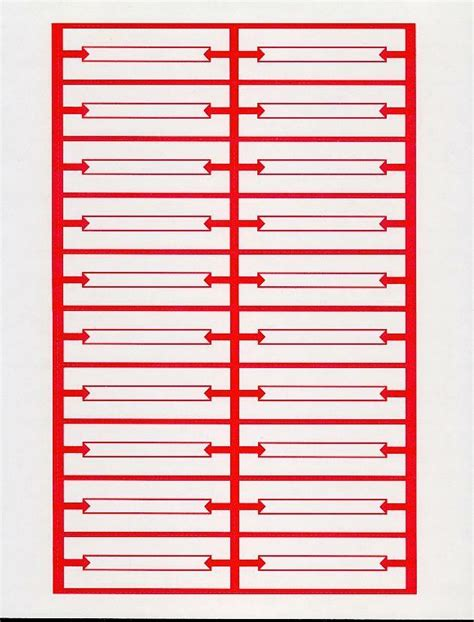 jukebox labels template 240 white blank jukebox title strips 12 pages heavy