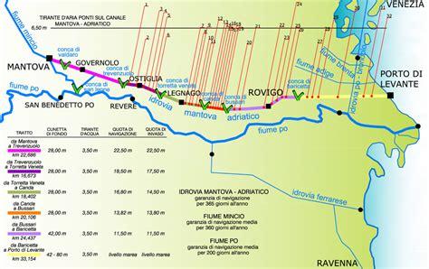 navigazione interna mappa fiumi navigabili europa