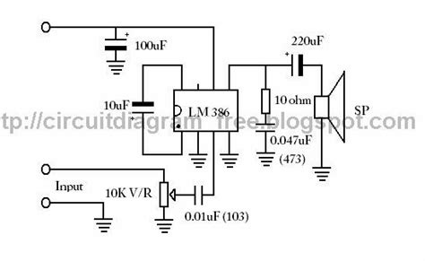 integrated circuit quiescent current electronic circuit diagrams lm386 ic audio lifier