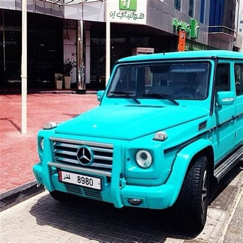 tiffany blue black and purple limited edition mercedes g wagon be mine cars
