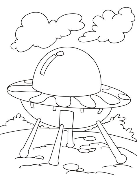 ufo coloring book pages ufo alien coloring pages for kids grig3 org