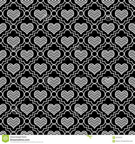 repeat pattern black and white black and white chevron hearts tile pattern repeat