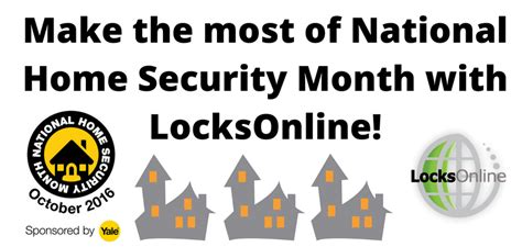 upgrade your home security during national home security