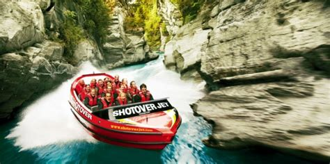 shotover river jet boat ride new zealand shotover jet jet boat queenstown everything new
