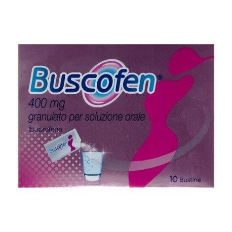 buscofen per mal di testa buscofen 10 bust grat 400 mg