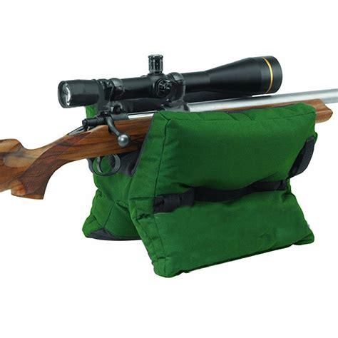 pistol bench rest bags shooting range sand bag set rifle gun bench rest stand