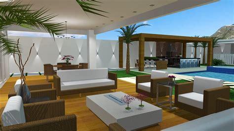 Area Casa projetos de 193 rea externa barbara borges projetos 3d