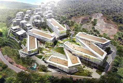creative architecture pwd architecture to ground on nature infused mixed use development in dali china