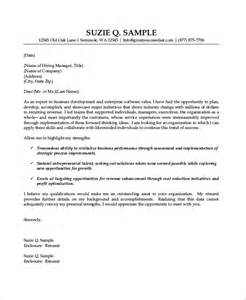 Cover Letter Free Sles by Sle Sales Cover Letter 10 Exles In Word Pdf