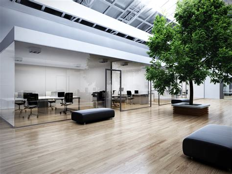 with a office with tree visarteam 3d visualization of exteriors and interiors