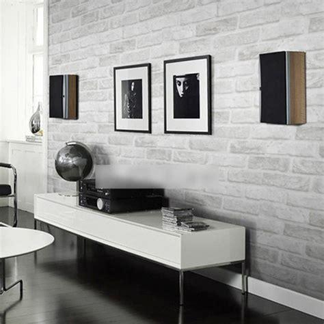 thick wallpaper aliexpress buy modern 3d brick off white 3d pvc deep embossed foam brick wallpaper modern vinyl