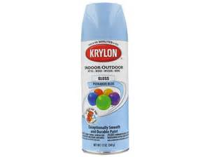 krylon peek a boo blue indoor outdoor spray paint shop hobby lobby