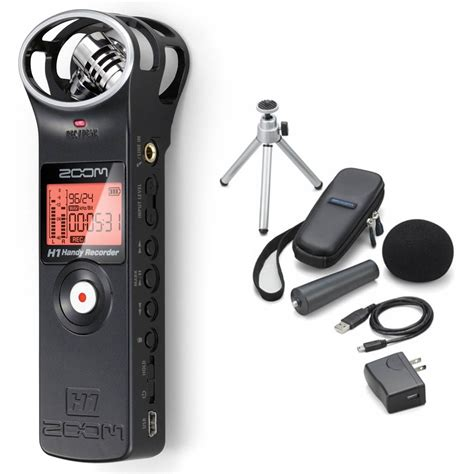 Dijual Zoom H1 Zoom Aph 1 Accessory Pack Px 49e Harga Bersahabat zoom h1 handy recorder w accessory pack the school locker