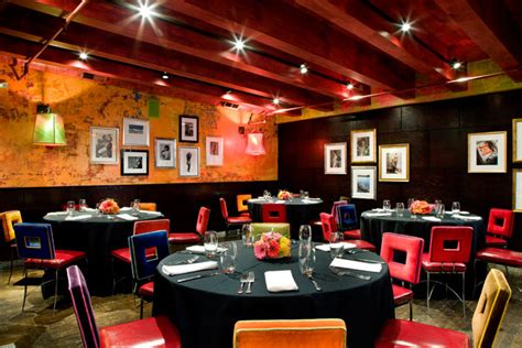 bright colors and covered walls characterize the decor at restaurant carnivale 4