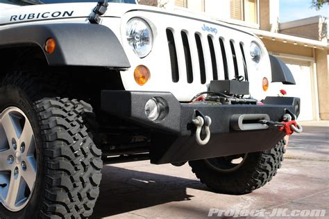 How To Install A Winch On A Jeep Wrangler Lod Jeep Jk Wrangler Front Winch Bumper Installation Write
