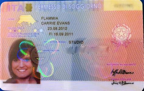 carta soggiorno ce illimitata conquering the permesso di soggiorno follow the flammias